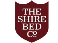 A logo for the Shire Bed Company brand